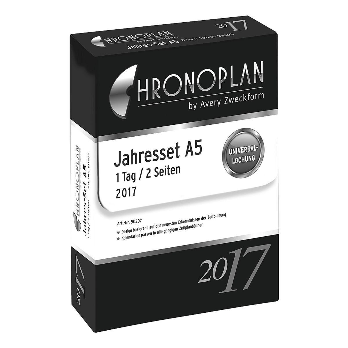 CHRONOPLAN Jahres-Set 2017