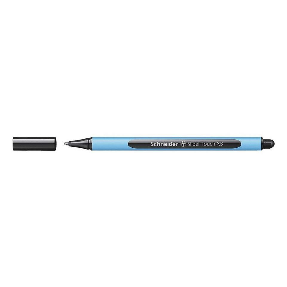 Schneider Kugelschreiber »Slider Touch« in schwarz
