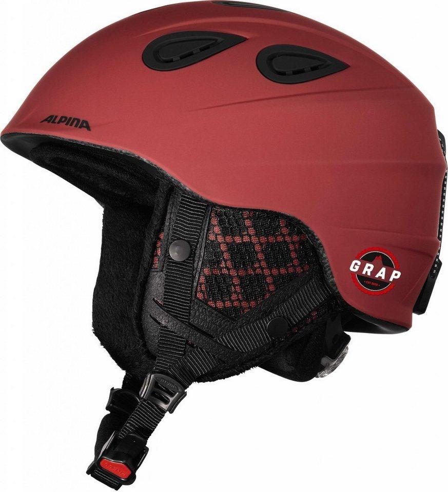 Alpina Ski - / Snowboardhelm »Grap 2.0 L.E. Helmet« in rot