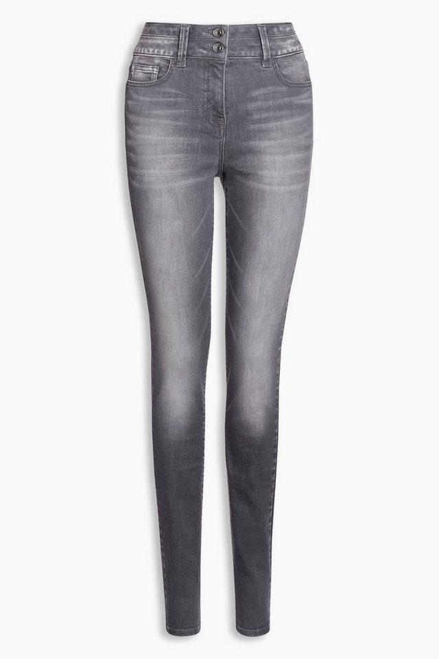 next figurformende skinny jeans mit hoher taille otto. Black Bedroom Furniture Sets. Home Design Ideas