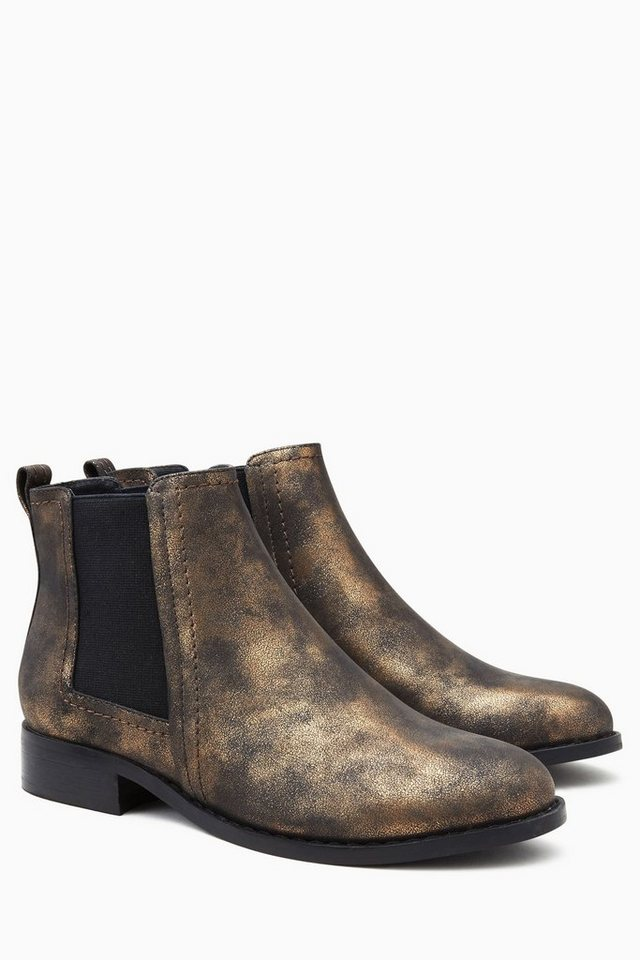 Next Stiefelette in Washed Gold