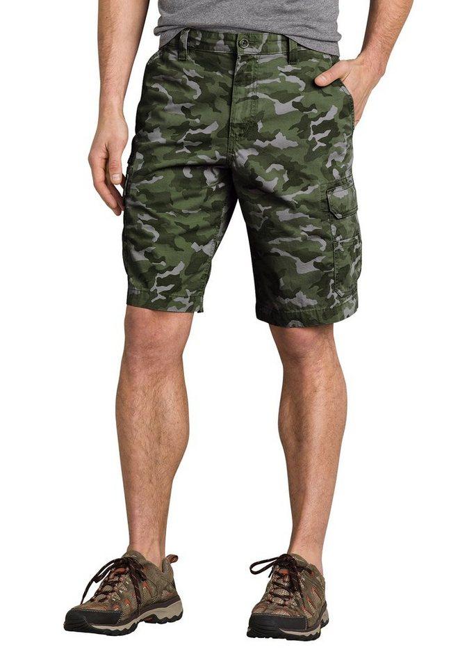 Eddie Bauer Shorts in Grün Camouflage