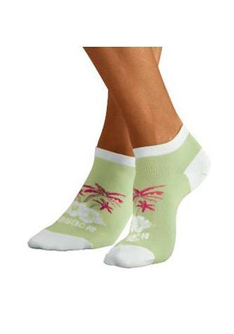 i s Hawaii Farbenfrohen PaarIm Weißpinkhellgrünrosa H Design Sneakersocken5 y7Yfgb6