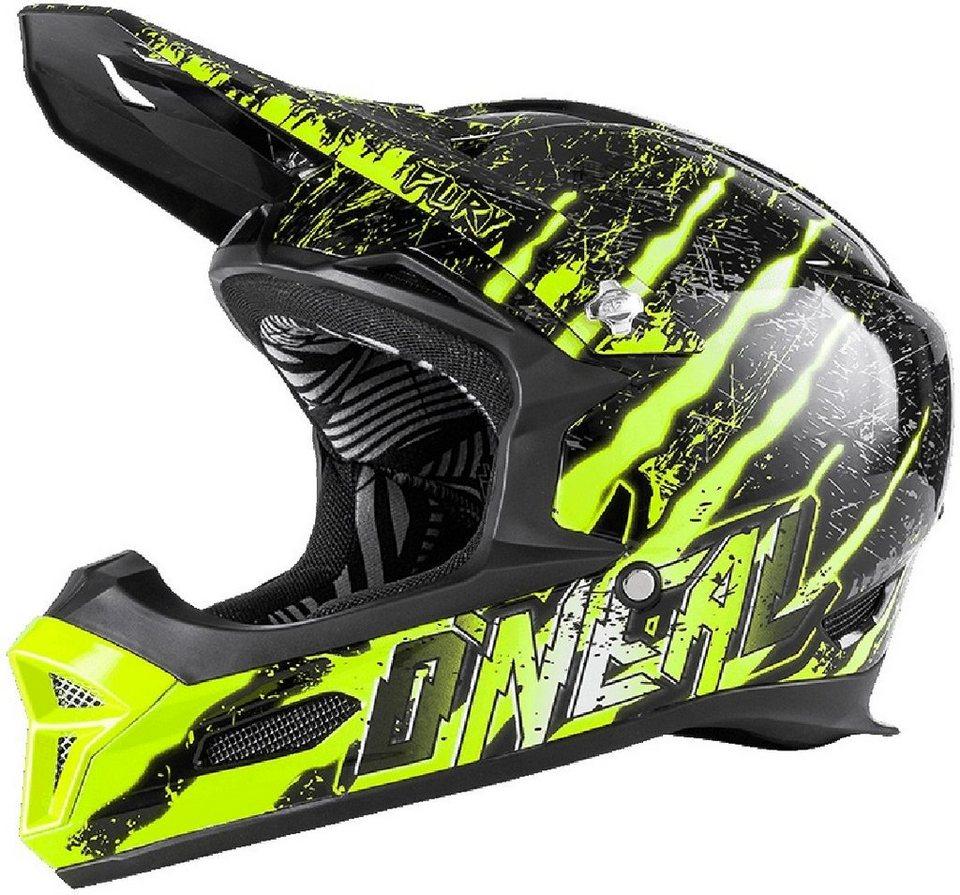 O'NEAL Fahrradhelm »Fury RL Mercury Helmet« in schwarz