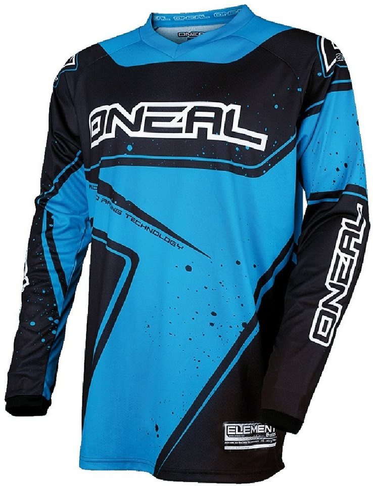 O'NEAL Radtrikot »Element Racewear Jersey Men« in blau