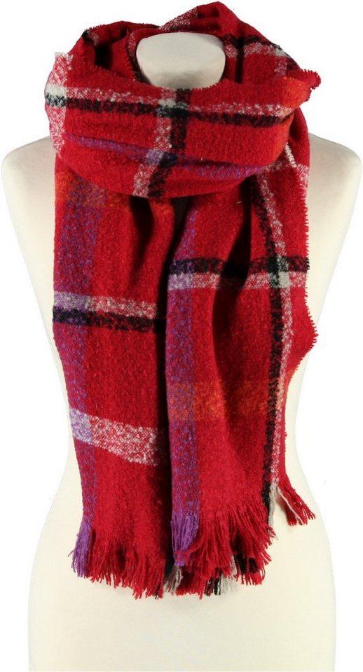 Passigatti Schal in Rot