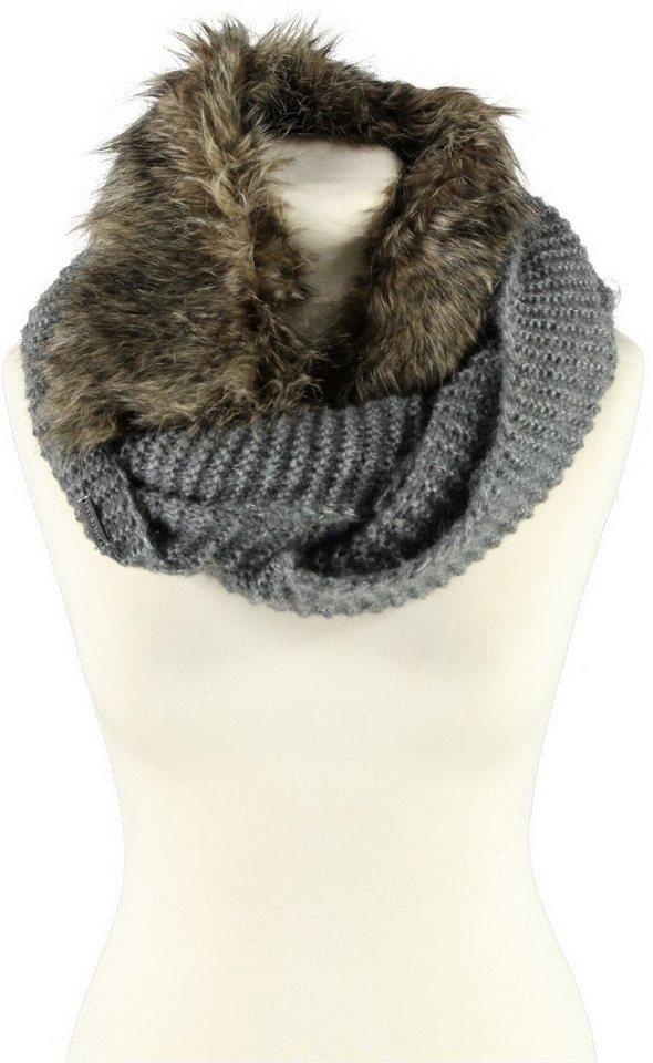 Passigatti Schal in Grau