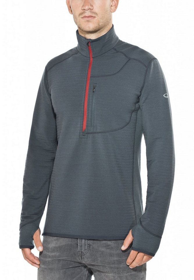 Icebreaker Pullover »Descender LS Half Zip Shirt Men« in blau