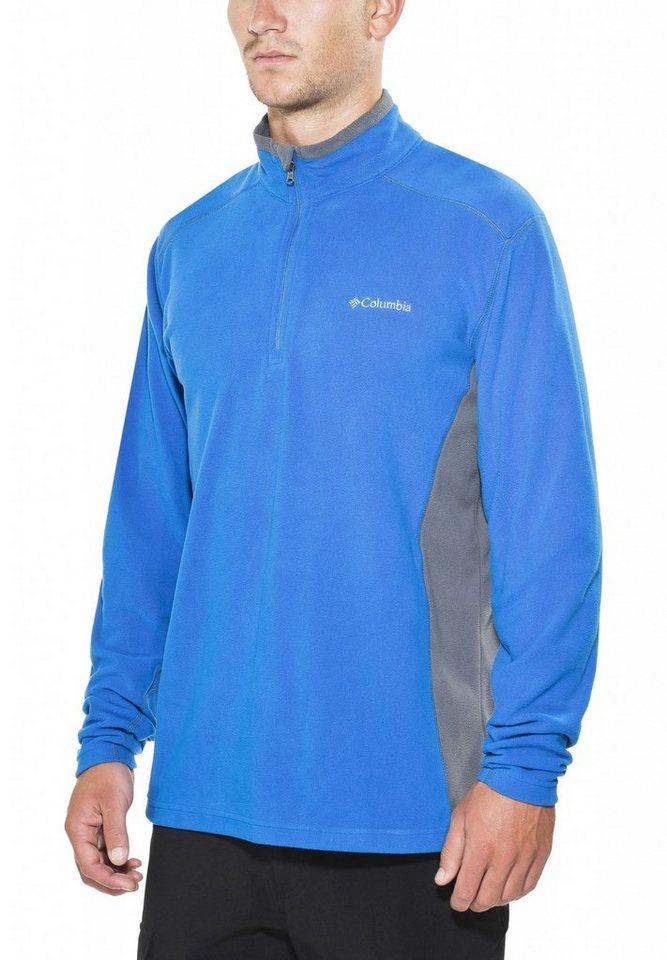 Columbia Pullover »Klamath Range II Half Zip Men« in blau