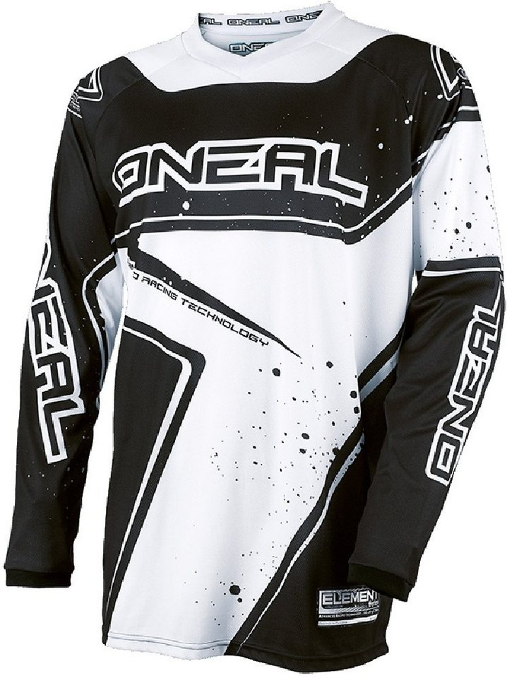 O'NEAL Radtrikot »Element Racewear Jersey Men« in schwarz