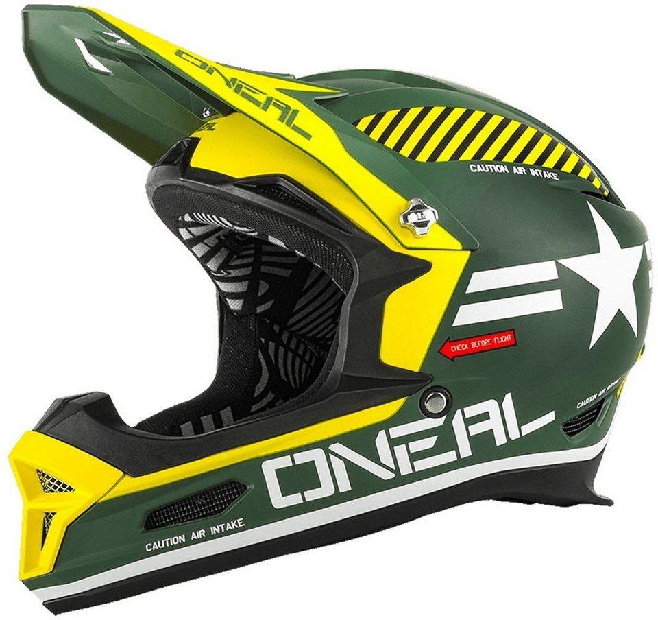 O'NEAL Fahrradhelm »Fury RL Afterburner Helmet« in grün