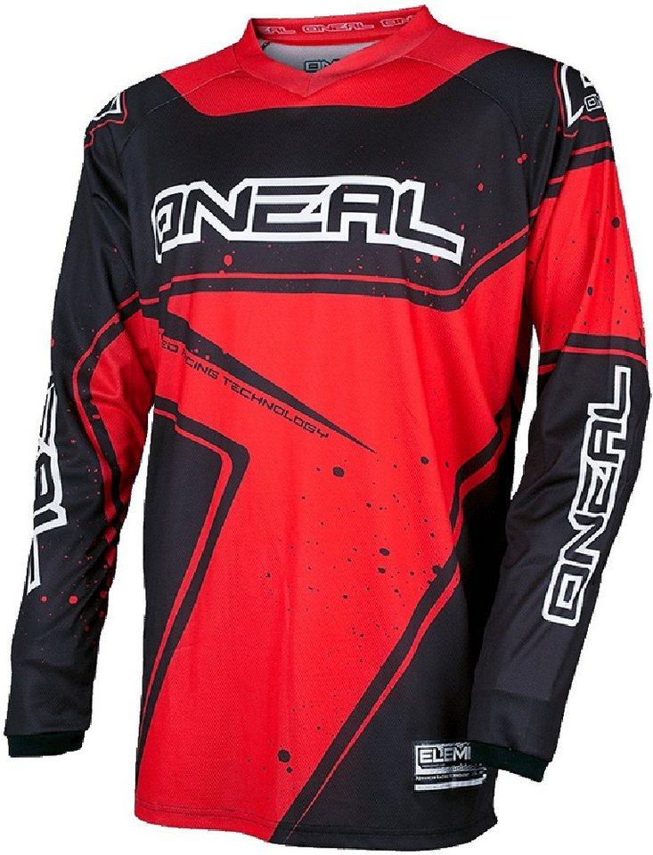 O'NEAL Radtrikot »Element Racewear Jersey Men« in rot