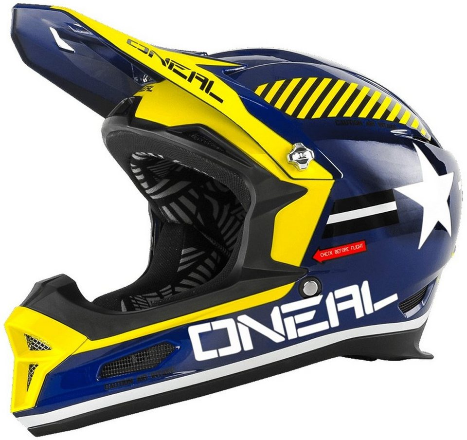 O'NEAL Fahrradhelm »Fury RL Afterburner Helmet« in blau