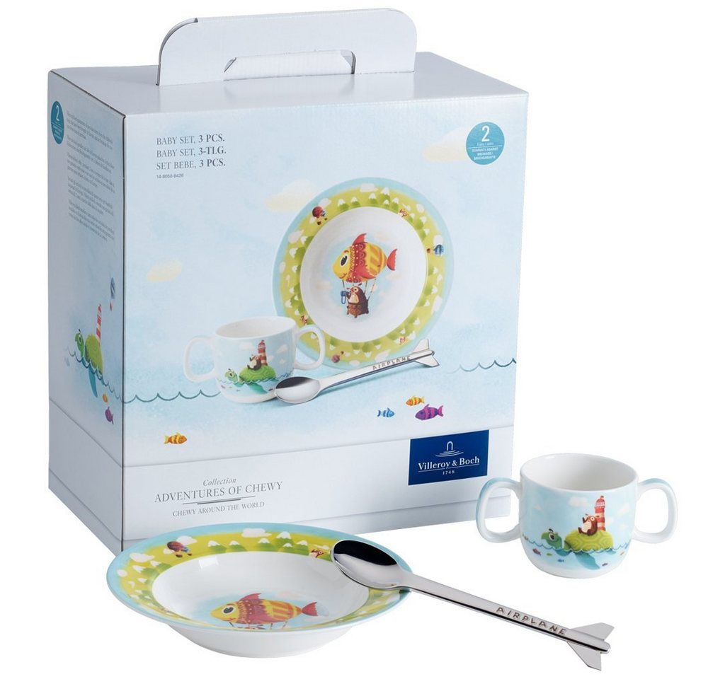 Villeroy & Boch Baby Set 3tlg. »Chewy around the world«