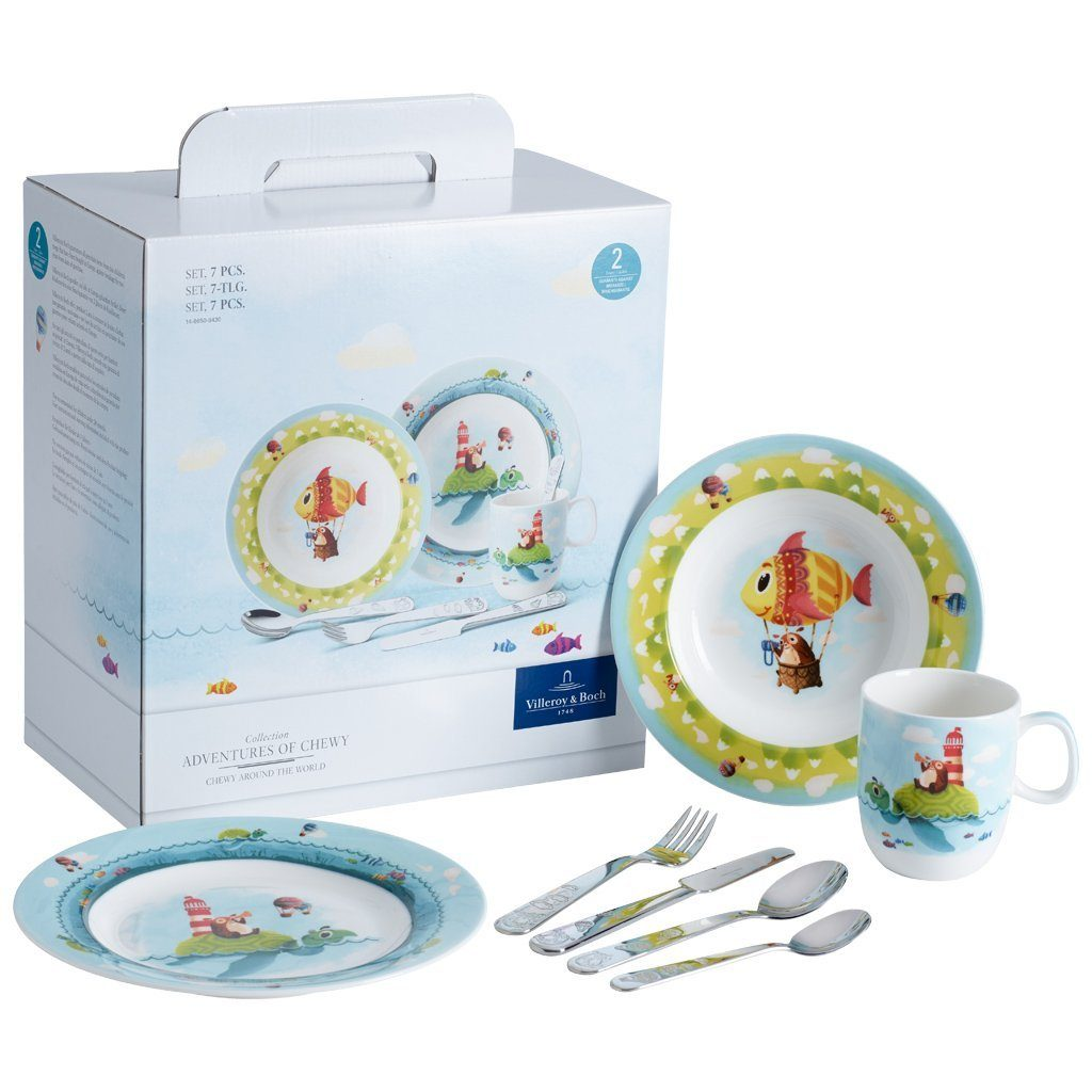 VILLEROY & BOCH Set 7tlg. »Chewy around the world«