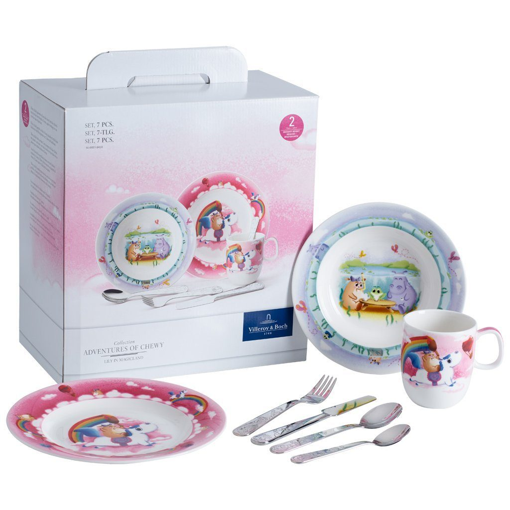 Villeroy & Boch Set 7tlg. »Lily in Magicland«