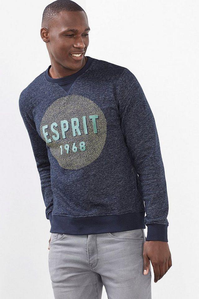 ESPRIT CASUAL ESPRIT 1968 Sweatshirt aus Baumwoll-Mix in NAVY