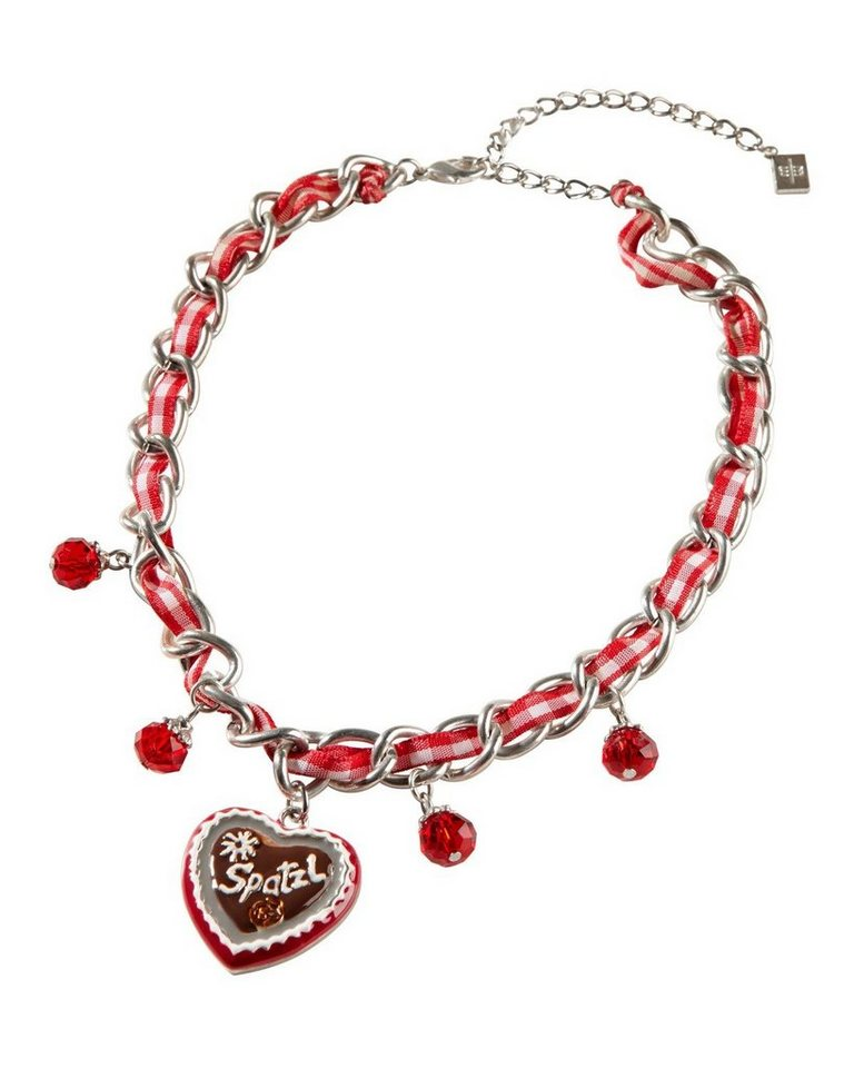 Wabersich Set Kette & Armband in Rot