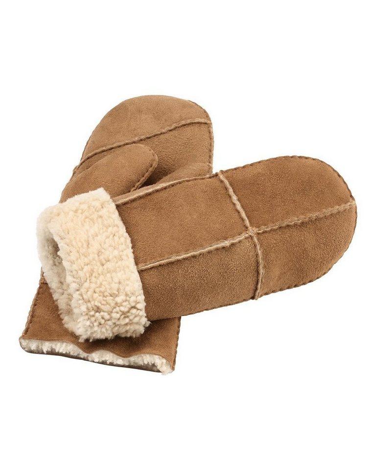 In Linea Handschuhe in Camel