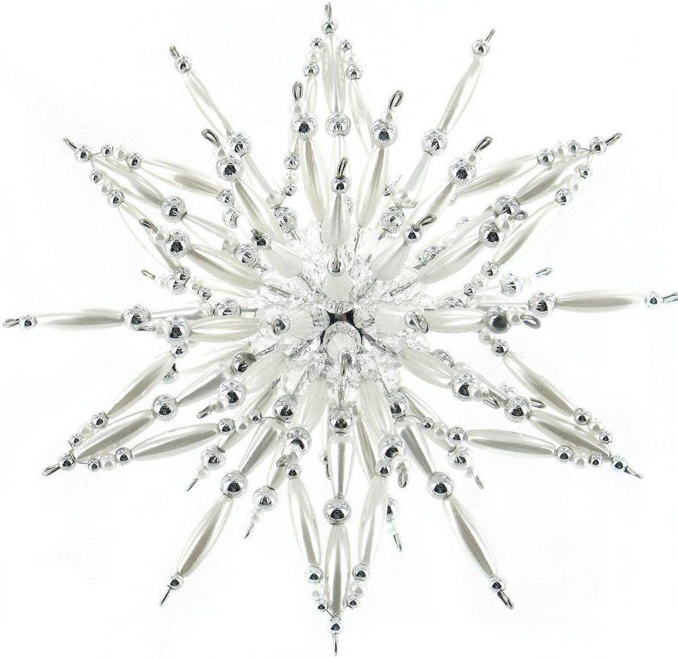 """Perlenstern-Komplettset """"Silver-White"""""""