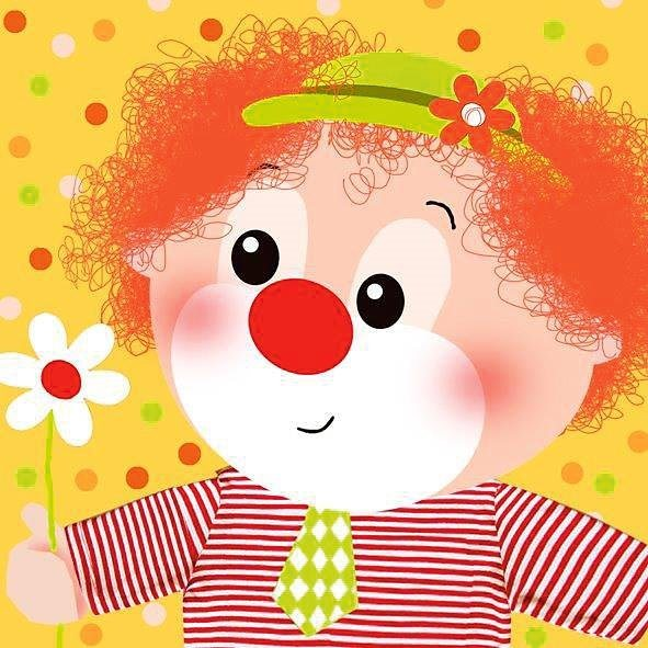 Serviette Papierserviette Little Clown
