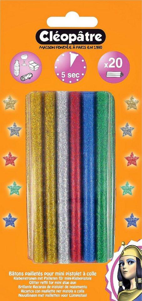 Farbpatronen Glitter, 20 Stück