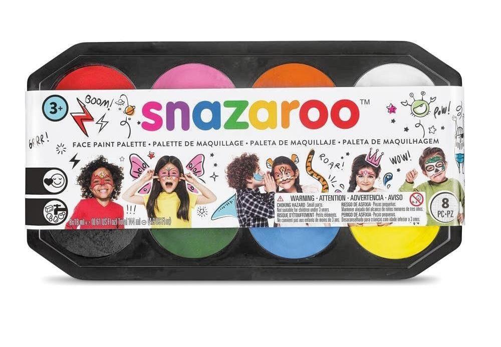 "snazaroo Schminkpalette ""Jumbo"", 8 Farben"