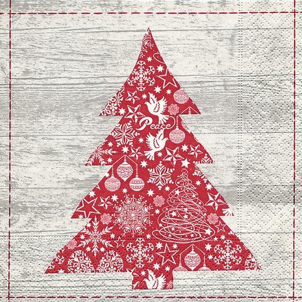"Serviette ""Scandi Tree"""