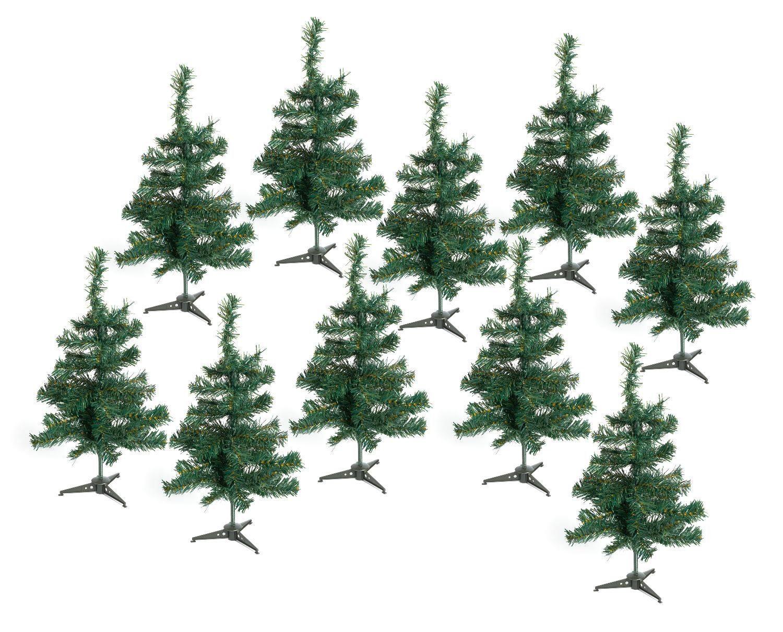 VBS Großhandelspackung 10 Tannenbäume, ca. 49 cm