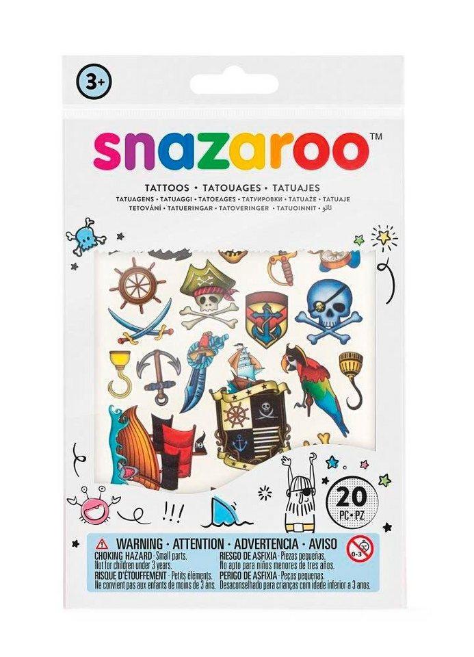 """snazaroo Tattoos """"Piraten"""""""