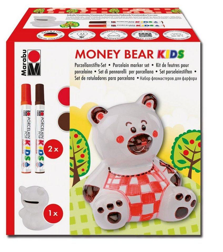 """Marabu Porcelain for Kids """"Money Bear"""""""