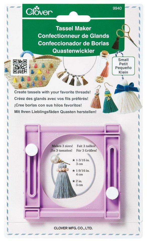 Clover Quasten Schablone Quastenwickler klein