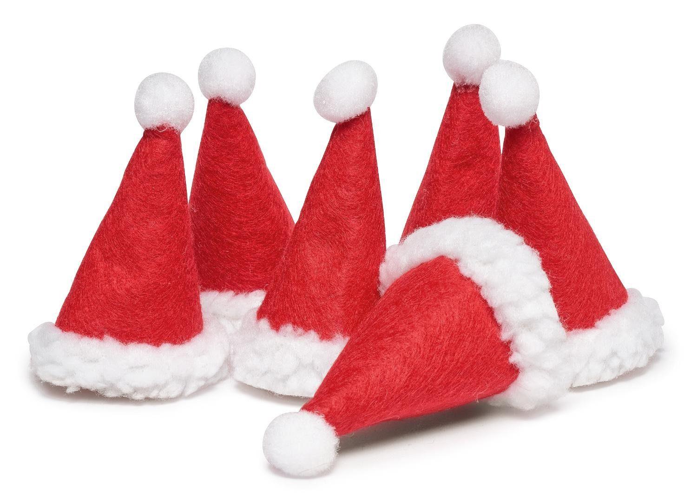 VBS Weihnachtsmützen, 6 Stück