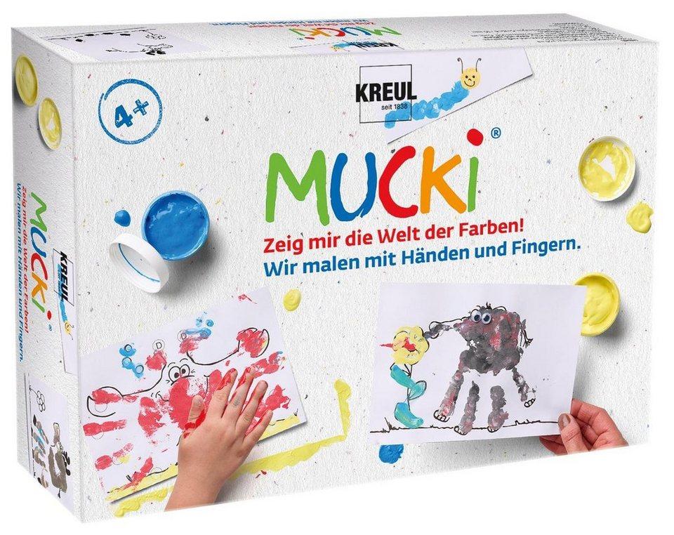 """MUCKI Set """"Wir malen mit Händen und Fingern"""""""