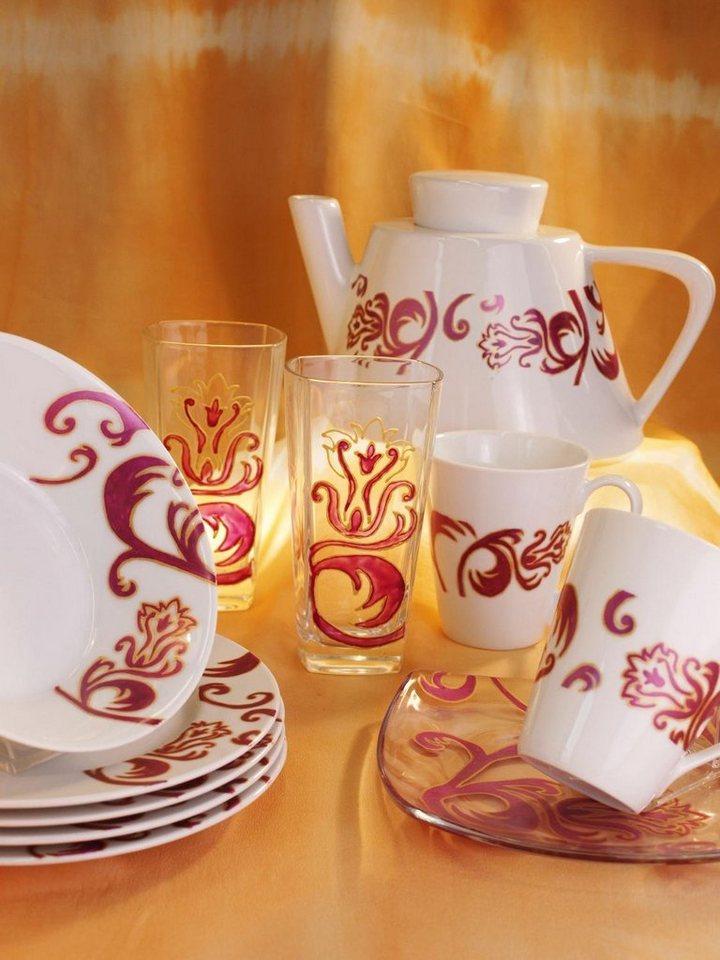 Hobby Line Porzellanfarbe Porcelain brilliant 20 ml in Orange
