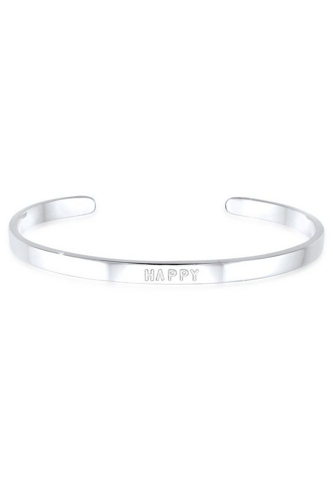 Elli Armband »HAPPY 925 Sterling Silber« in Silber