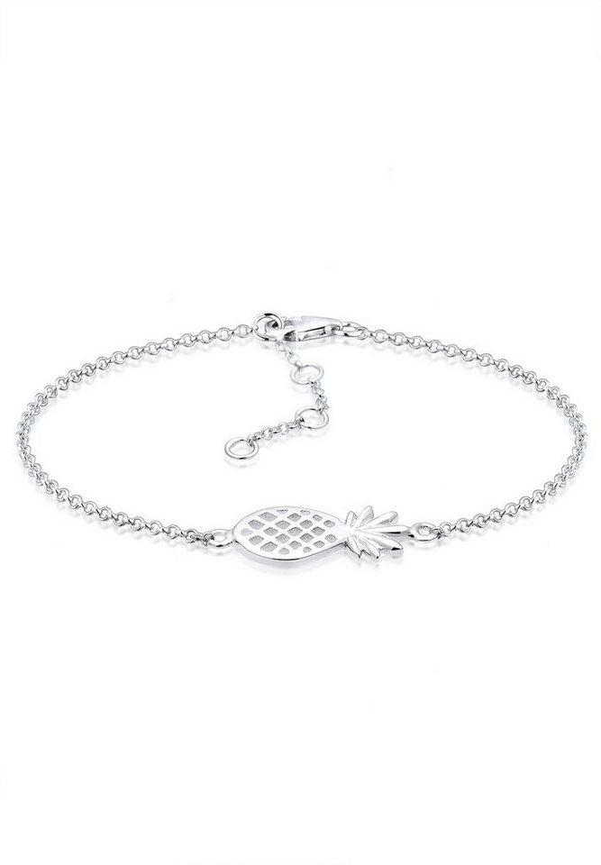 Elli Armband »Ananas 925 Sterling Silber« in Silber