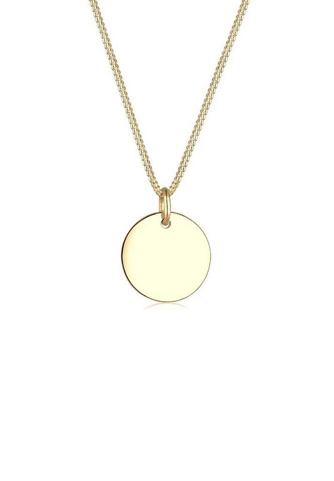 Elli Halskette »Kreis 585 Gelbgold« in Gold