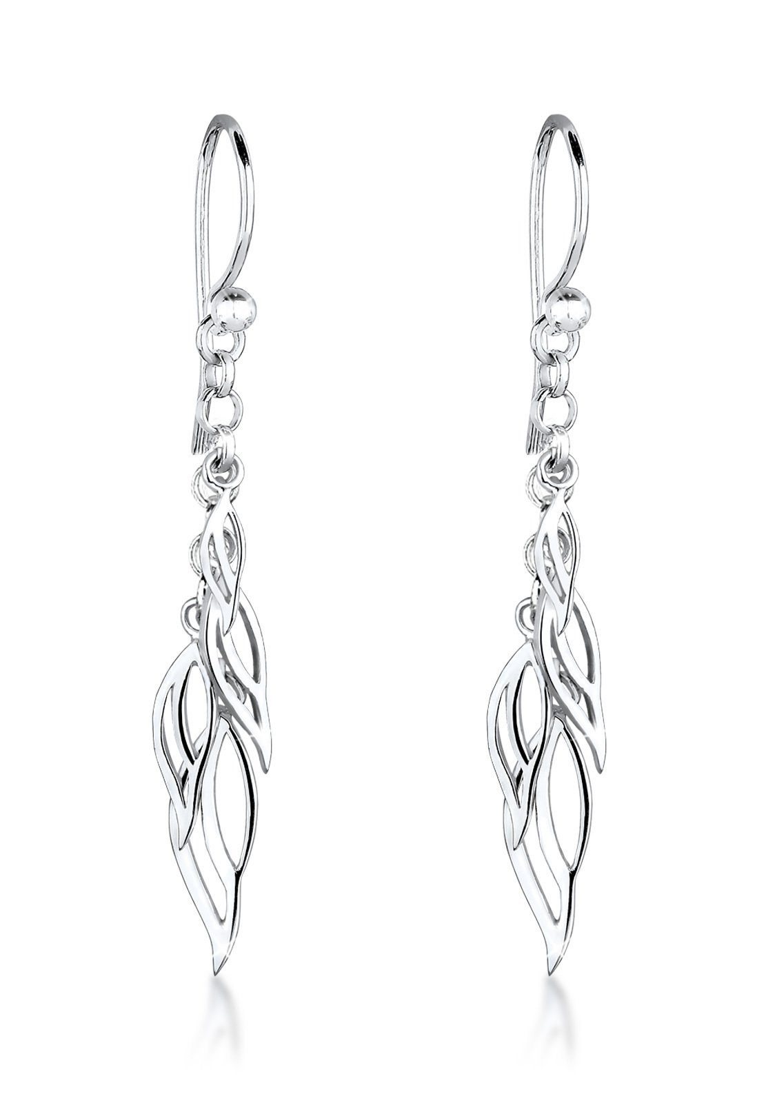 Elli Ohrringe »Blätter Elegant Trend Filigran 925 Silber«