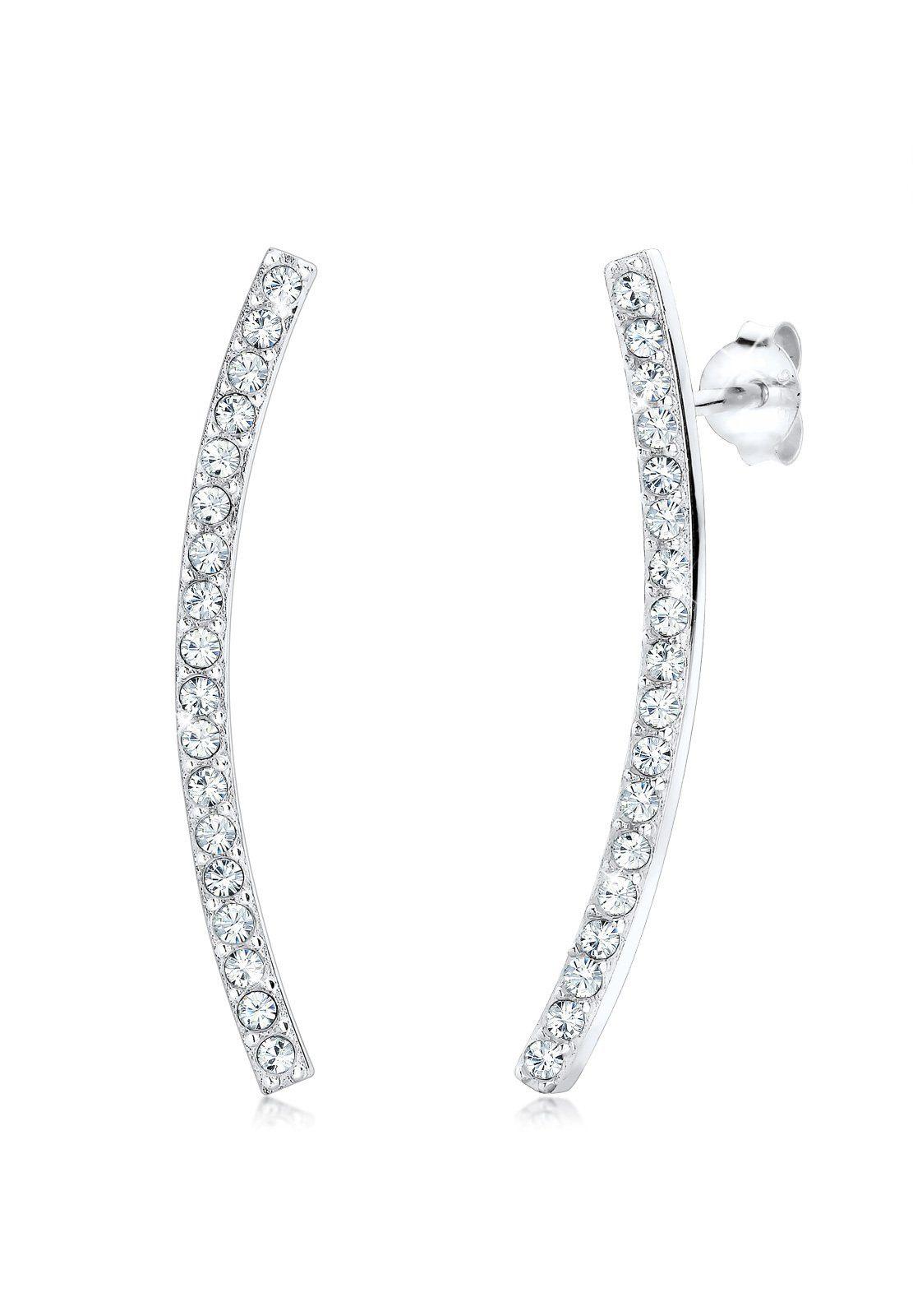 Elli Ohrringe »Swarovski Kristalle 925 Sterling Silber«