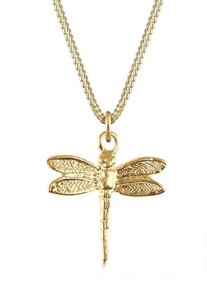 Goldhimmel Halskette »Libelle 925 Sterling Silber« in Gold