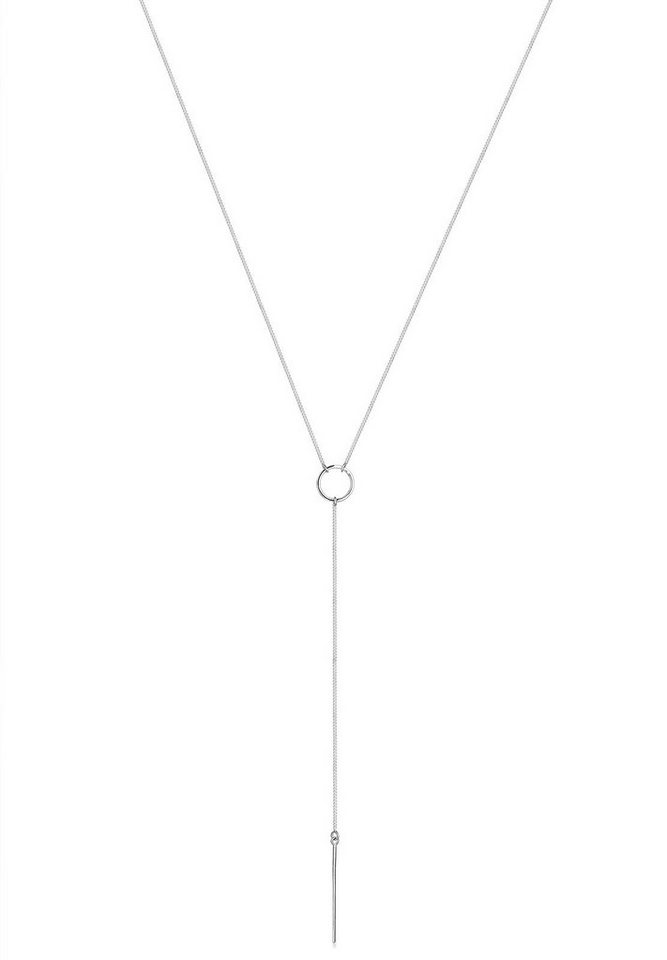 Elli Halskette »925 Sterling Silber Y-Kette« in Silber