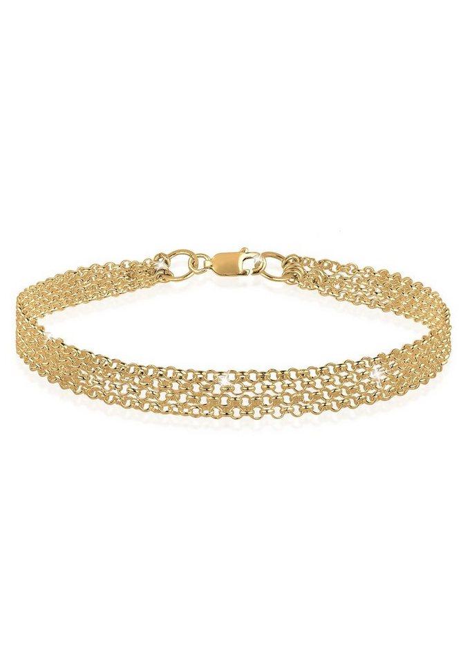 Goldhimmel Armband »925 Sterling Silber vergoldet« in Gold