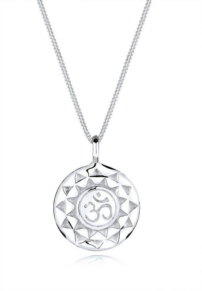 Elli Halskette »Talisman Om 925 Sterling Silber« in Silber