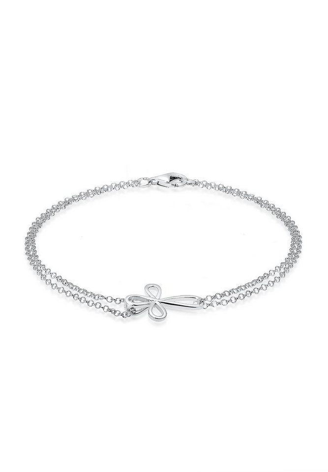Elli Armband »Kreuz 925 Sterling Silber« in Silber