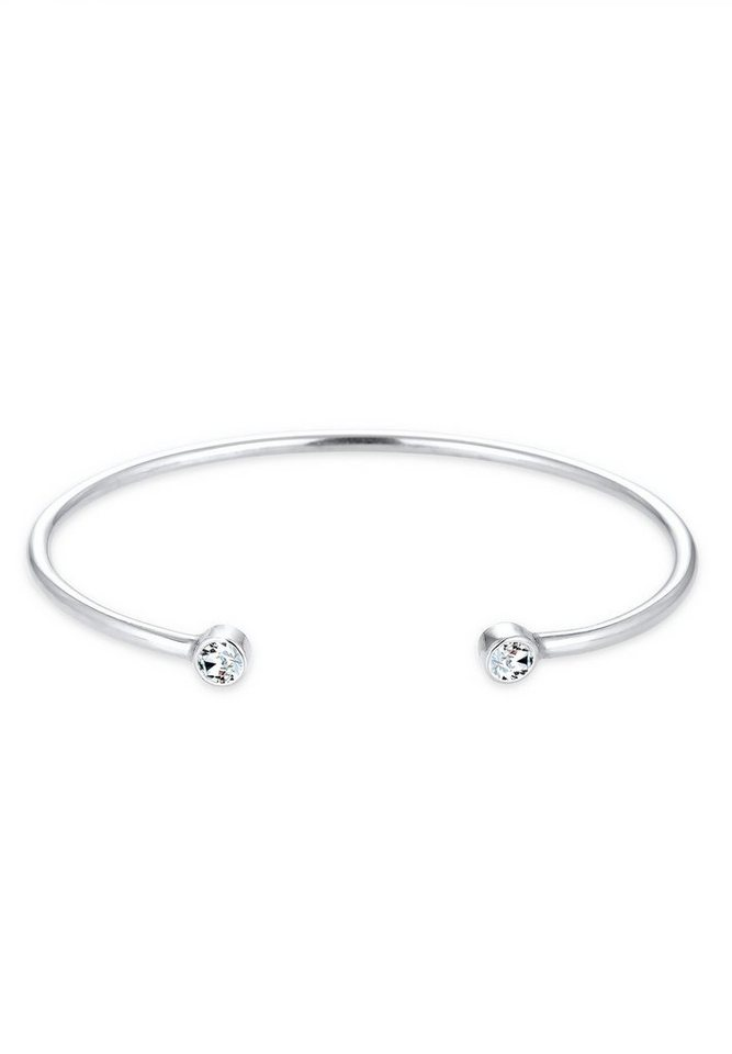 Elli Armband »Trend Geo Swarovski® Kristalle 925 Sterling Silber« in Silber
