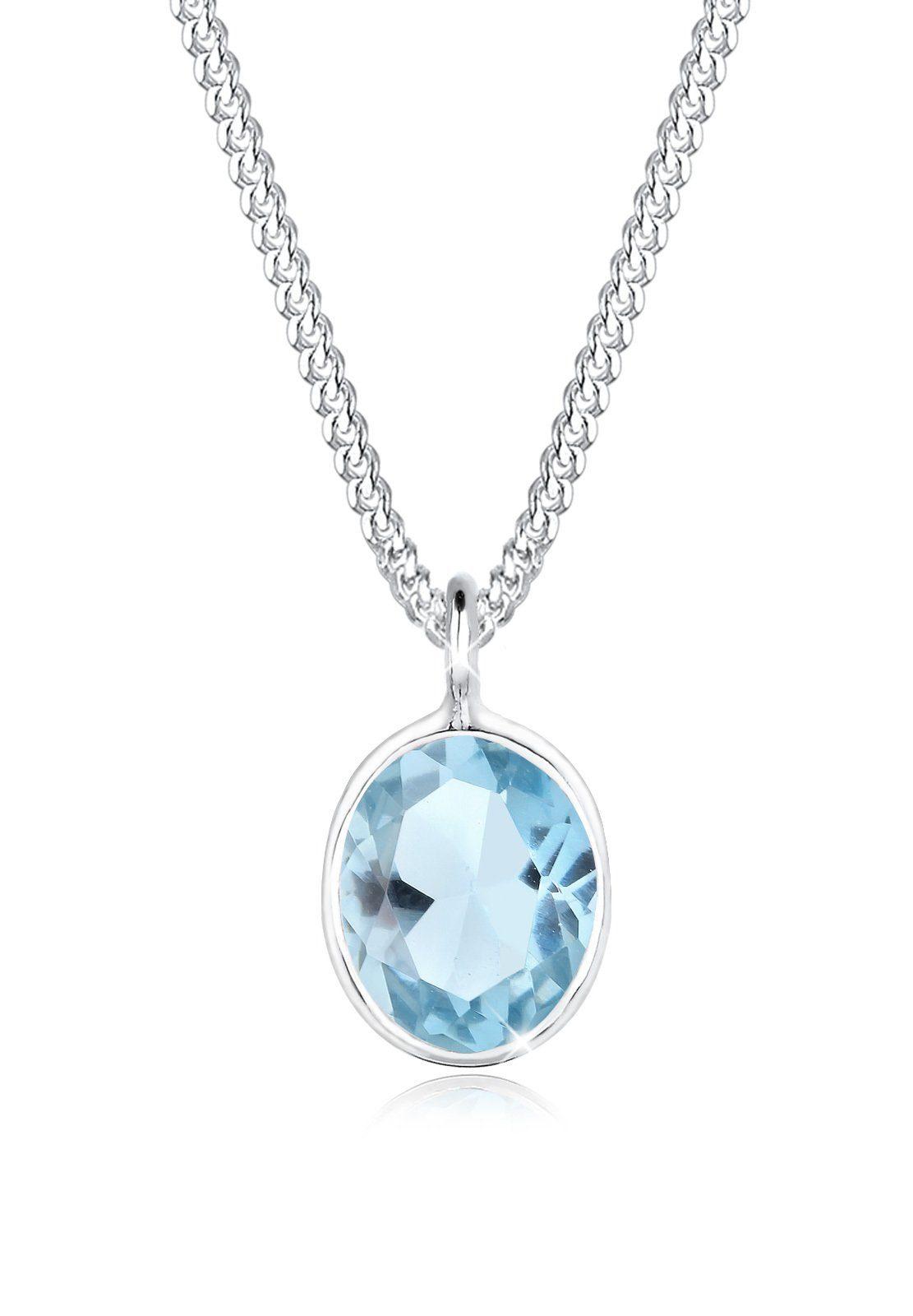 Elli Halskette »Topas 925 Sterling Silber«