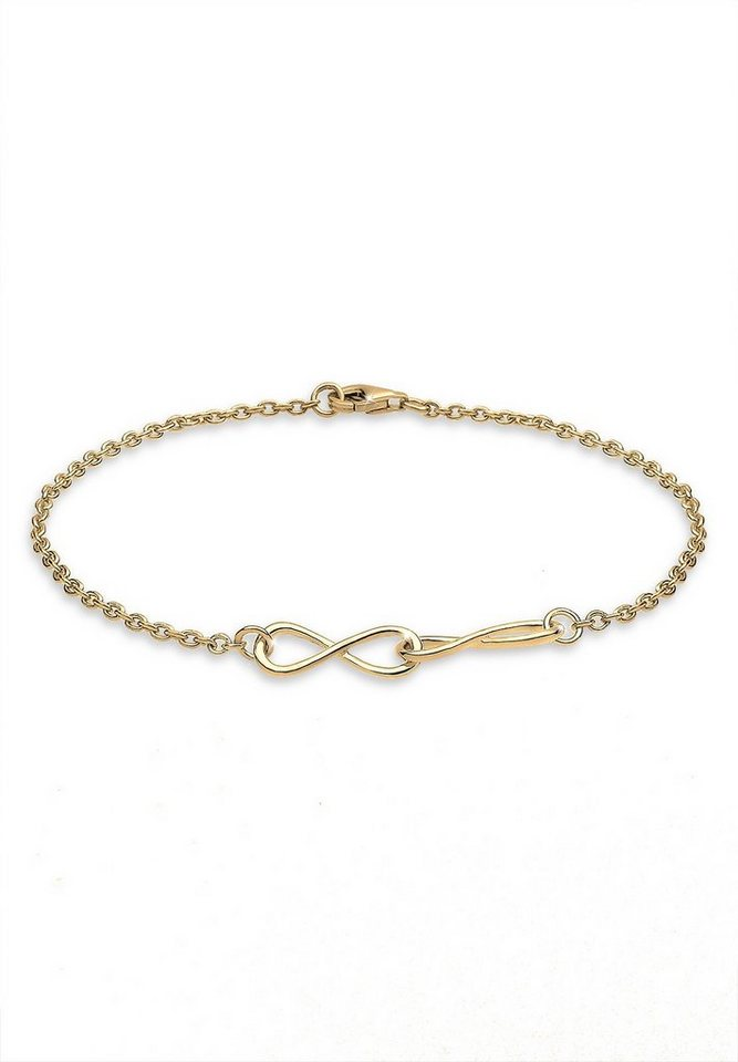Elli Armband »Infinity 925 Sterling Silber« in Gold
