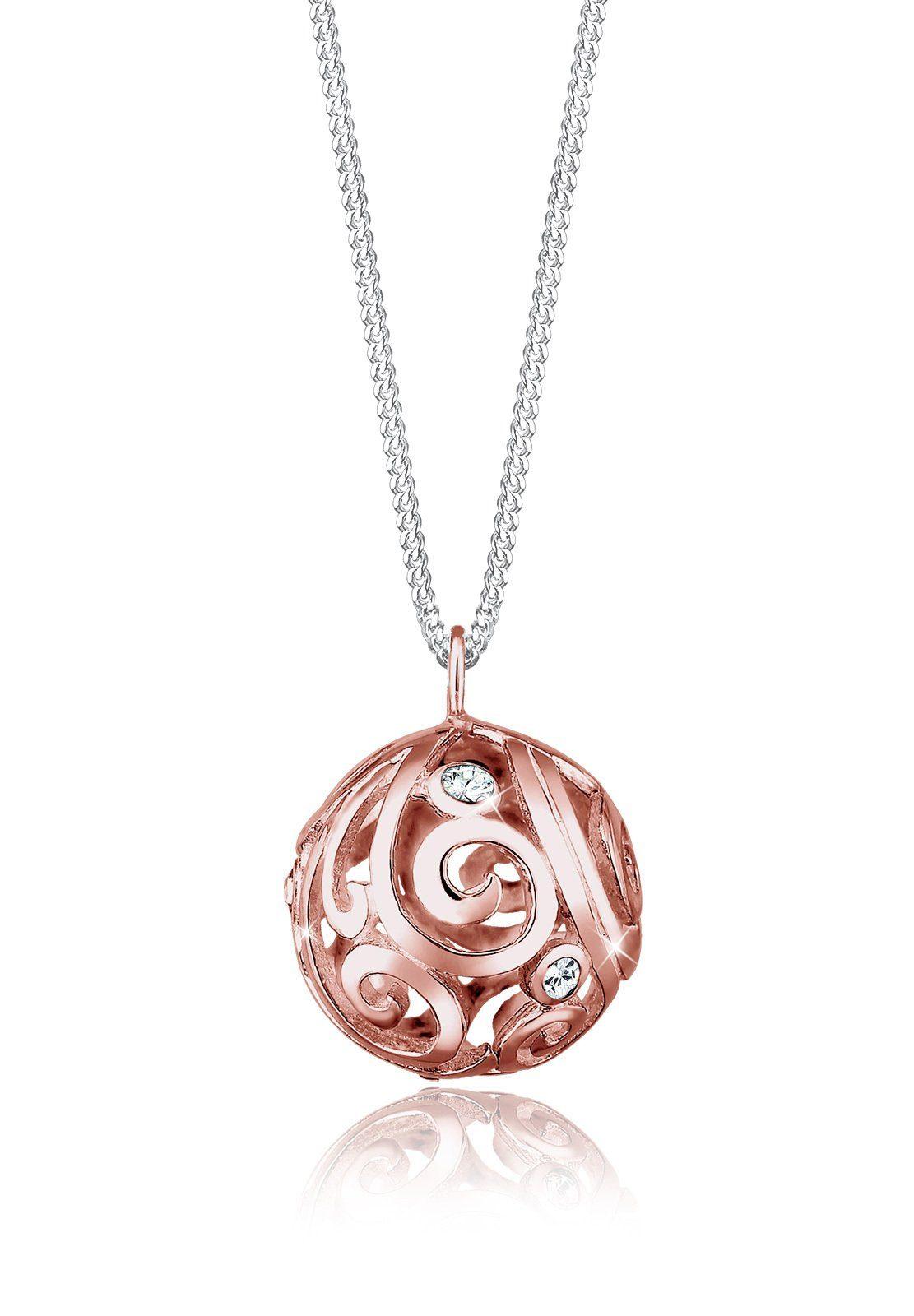 Elli Halskette »Ornament Swarovski® Kristalle 925 Sterling Silber«