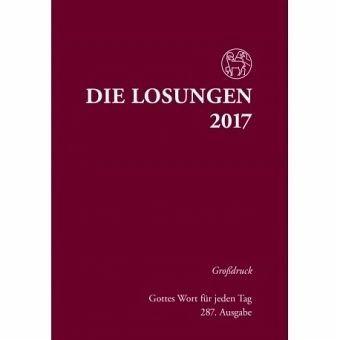 Gebundenes Buch »Die Losungen für Deutschland 2017 Grossdruck...«